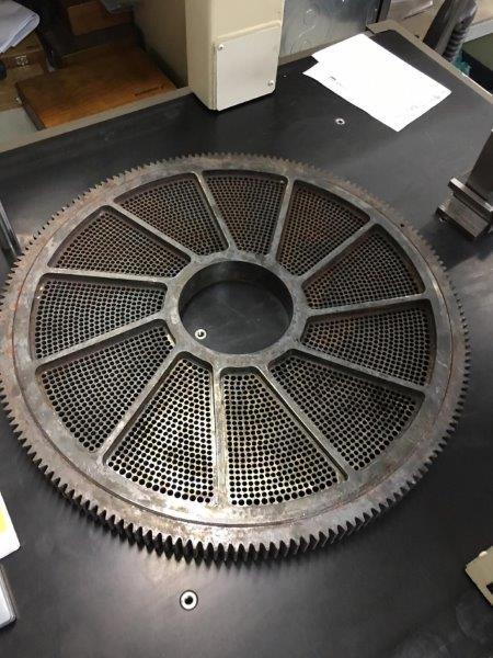 Serviço de manutenção de máquinas industriais
